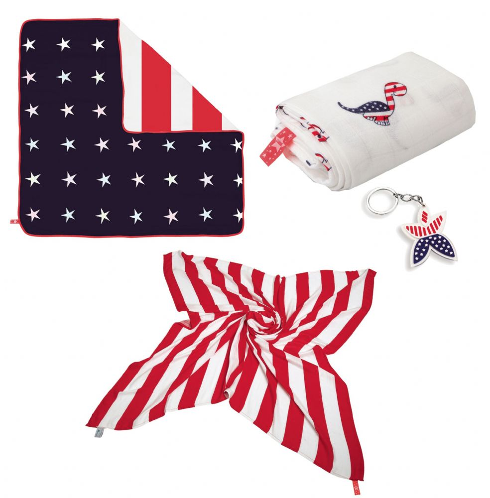 Cuski Happy USA Baby Gift Set